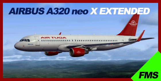 Airbus X Extended – A320 neo (Aerosoft) – Air Tuga
